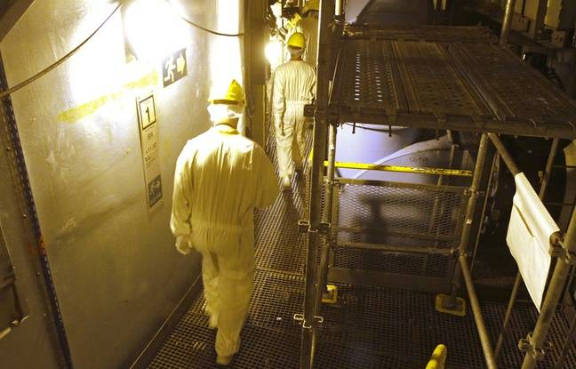 Illustration de la centrale nucléaire de Gravelines, près de Dunkerque, dans le Nord