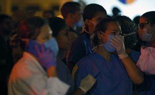 Environ 80 personnes ont dû être transférées vers d'autres hôpitaux.