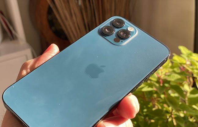 L'iPhone 12 Pro et ses trois modules photo avec capteur de 12 millions de pixels.