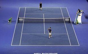 La finale de l'Open d'Australie 2015 entre Novak Djokovic et Andy Murray, remportée par le Serbe.