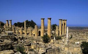 Certaines pièces saisies proviennent du site de Cyrène, en Libye.