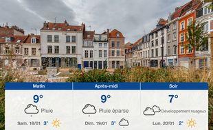 Météo Lille: Prévisions du vendredi 17 janvier 2020