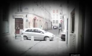Capture d'écran du film «Dans la peau d'un SDF» réalisé gràce à des caméras minatures par le Samu Social de Paris.