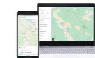 Google Maps affichera l'étendue des incendies naturels en temps réel