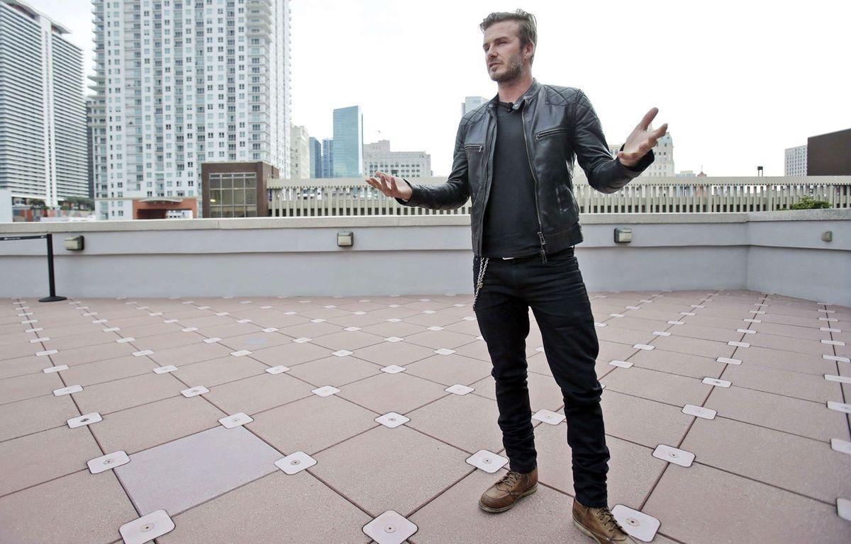 David Beckham à Miami le 24 mars 2014. – Wilfredo Lee/AP/SIPA