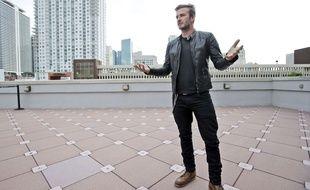 David Beckham à Miami le 24 mars 2014.