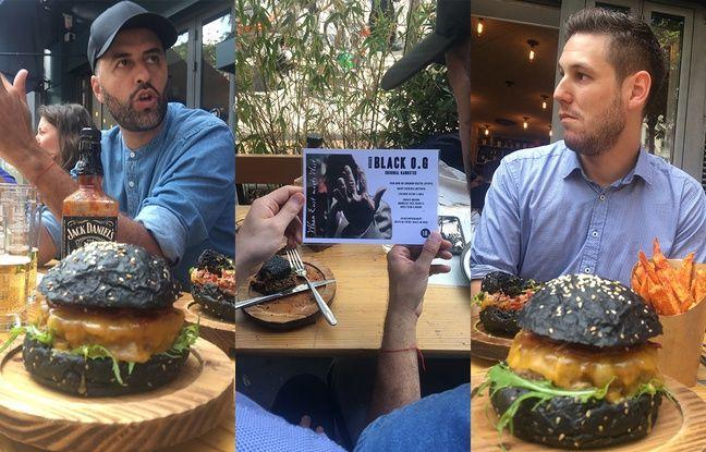 Vincent Boccara, créateur du Black OG (à g.) et notre lecteur invité Thibault P.