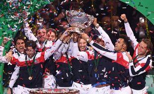 L'équipe de France a remporté sa dixième coupe Davis