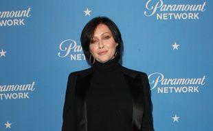 L'actrice Shannen Doherty à la Paramount Network Launch Party en janvier 2018