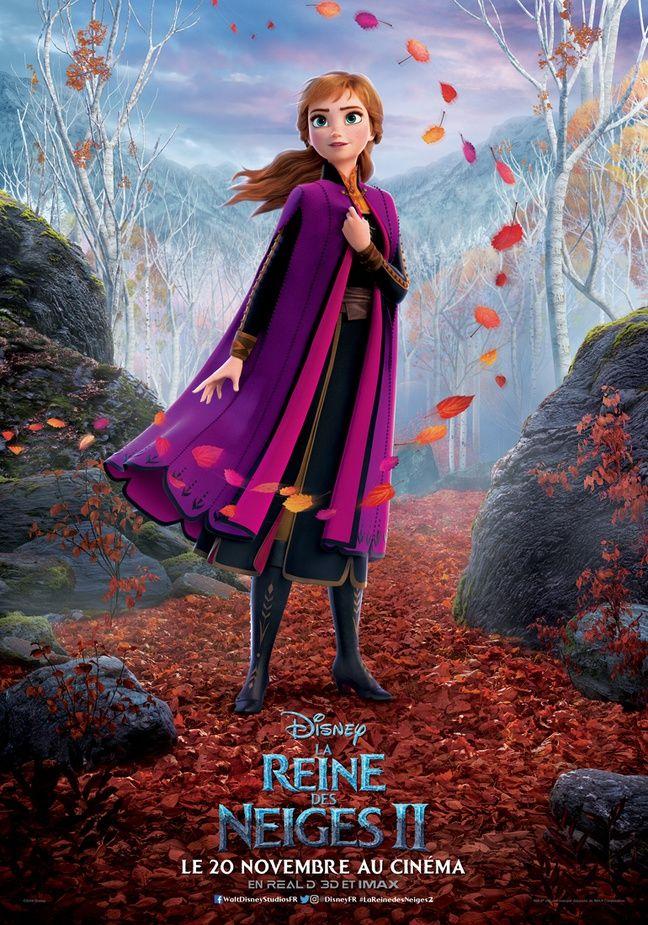 Anna revient dans La Reine des Neiges 2.