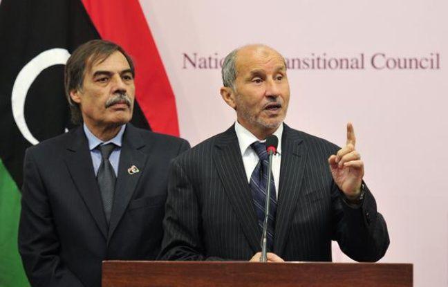 Le président du Conseil national de transition (CNT) libyen, Moustapha Abdeljalil, le 24 octobre 2011, à Benghazi (Libye).