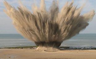 Capture d'écran vidéo de la Marine Nationale
