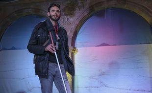 Alban Tessier, enseignant normand qui a traversé le Salar de Uyuni en sept jours, sur une distance de 140 km, en juillet 2018 en Bolivie.