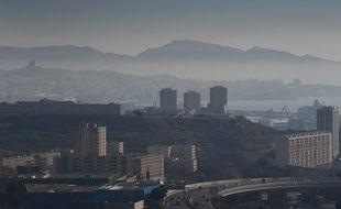 Un nuage de pollution, ici à Marseille. (illustration)