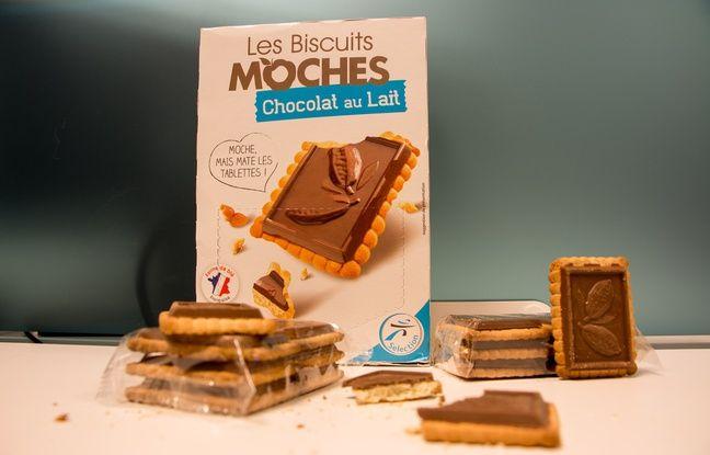 Les biscuits moches d'Intermarché, qui prétend lutter ainsi contre le gaspillage.