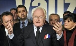 Michel Vauzelle, président de la région PACA, brigue un second mandat.