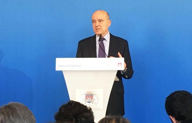 Alain Juppé, lors de ses voeux à la presse à la mairie de Bordeaux, le 9 décembre 2019.