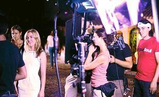"""Le tournage de """"Social Butterfly"""" s'est déroulé l'été dernier dans les environs de Valbonne."""