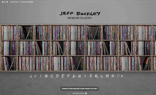Le site « Jeff Buckley Collection » permet d'écouter chacun des 400 albums préférés de Jeff Buckley sur Spotify.