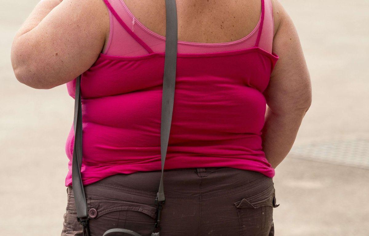 Illustration d'une femme obèse – David Muscroft/REX Shut/SIPA