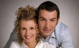 Alexandra Lamy et Jean Dujardin incarnaient Chouchou et Loulou dans «Un gars, une fille».