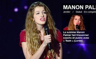 Manon Palmer, candidate de «The Voice» et fille de l'ancien joueur de la SIG Crawford Palmer.