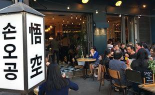 Le restaurant Goku, asian canteen