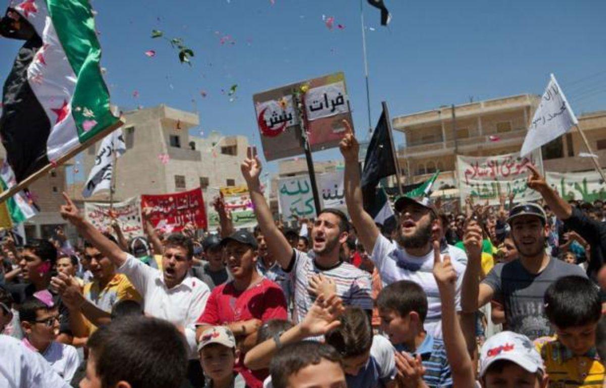 Pour la première fois les chefs de la diplomatie des cinq membres permanents du Conseil de sécurité de l'ONU se retrouvent samedi à Genève pour essayer de s'entendre sur une transition en Syrie et arrêter la spirale de la violence qui plonge chaque jour un peu plus le pays dans la guerre civile. – - afp.com