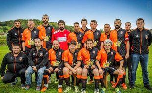 L'équipe du FC Saleichois, saison 2017-2018.