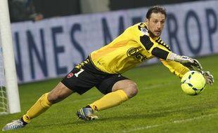 Le gardien du VAFC, Nicolas Penneteau, n'est plus titulaire.