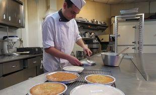 Le gâteau nantais, ici à la pâtisserie Visonneau