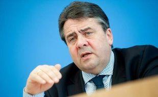 Le ministre allemand de l'Economie Sigmar Gabriel le 18 mars 2015 à Berlin