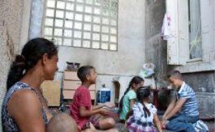 Des enfants roms n'ont pu être scolarisés.