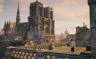 Notre-Dame de Paris dans Assassin's Creed Unity.