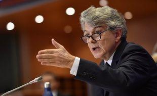 Thierry Breton au Parlement européen, le 14 novembre 2019 à Bruxelles.