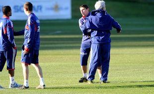 Robert Duverne et Raymond Domenech vont se retrouver dix ans après l'équipe de France.