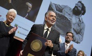 Francis Ford Coppola a reçu le Prix Lumière vendredi à Lyon.