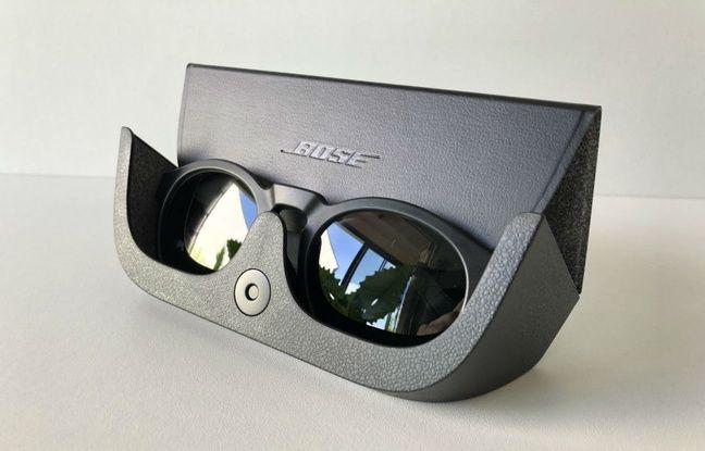Le boîtier de rangement des Frames de Bose ne recharge malheureusement pas les lunettes.