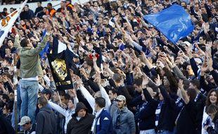 Le Virage Sud lors d'un match Bordeaux-Lille