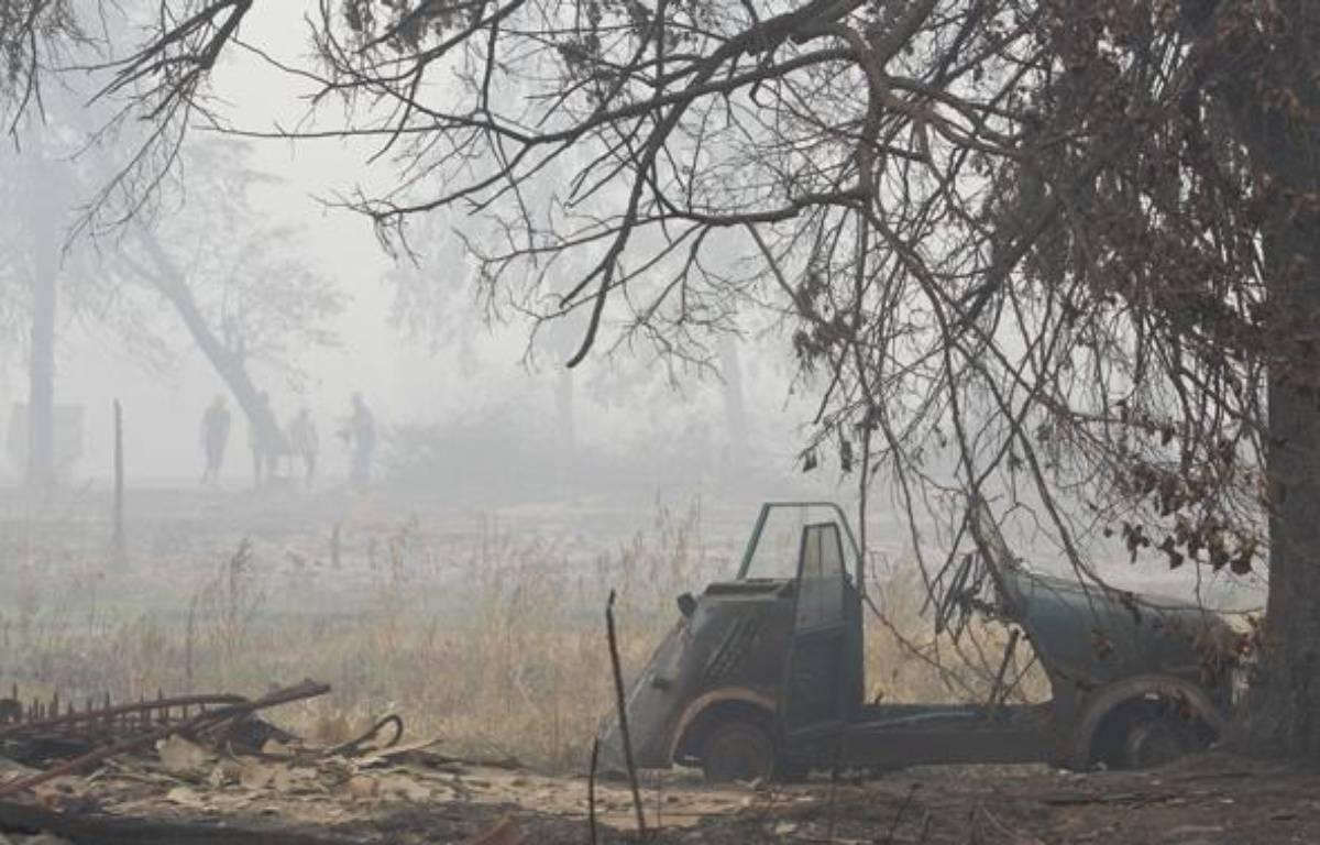 Quelque 554 feux continuaient à couvrir dimanche 190.400 hectares. – REUTERS/Denis Sinyakov