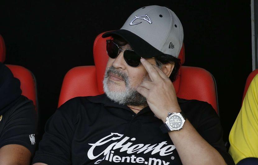 Mexique: Diego Maradona quitte son poste d'entraîneur des Dorados