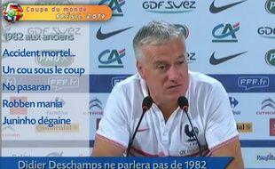 Didier Deschamps ne parlera pas aux minots de 1982