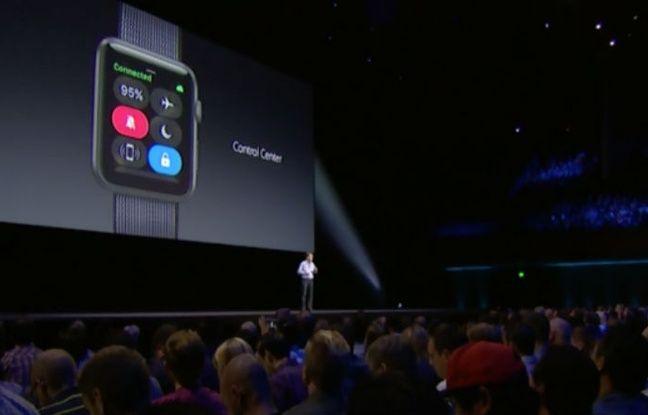 Un centre de contrôle arrivera prochainement sur l'écran de l'Apple Watch.