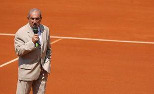 Le président de la Fédération française de tennis Jean Gachassin, le 28 mai 2012 à Paris