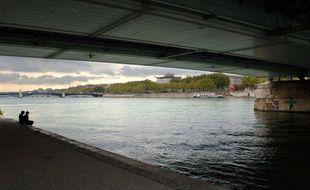 La cadavre a été retrouvé sur le Rhône (illustration)