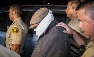 Un responsable de la production du film anti-islam, Nakoula Basseley Nakoula, conduit par la police, le 15 septembre 2012.