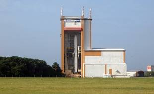 Ce samedi, Ariane 5 est restée sagement dans sa boîte (illustration).