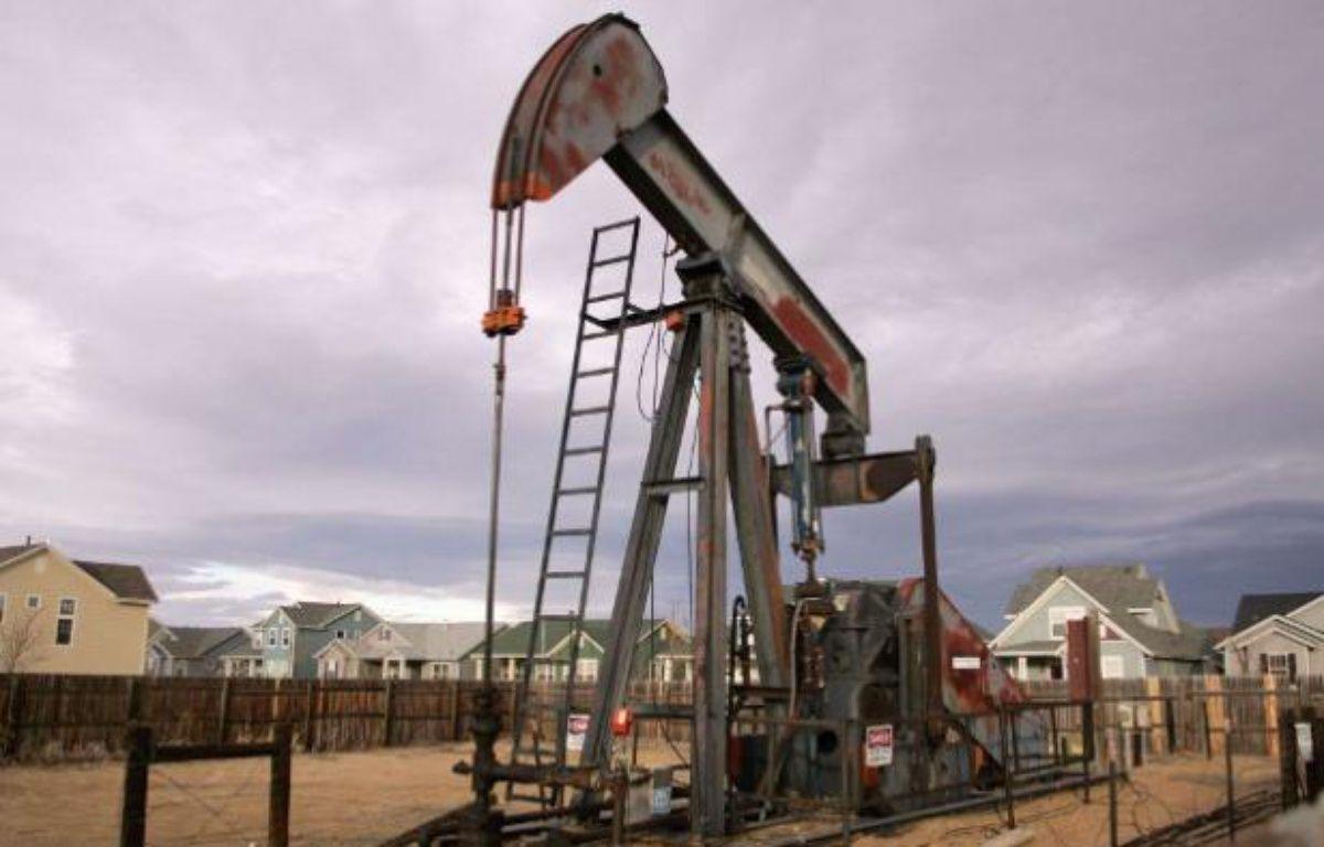 Un puits d'exploitation de gaz de schiste, dans le Colorado, aux Etats-Unis. – D.ZALUBOWSKI/AP/SIPA