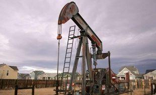 Un puits d'exploitation de gaz de schiste, dans le Colorado, aux Etats-Unis.