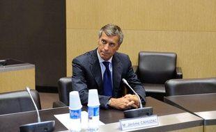 Jérôme Cahuzac, interrogé par la commission d'enquête parlementaire, à l'Assemblée nationale, le 23 juillet 2013.